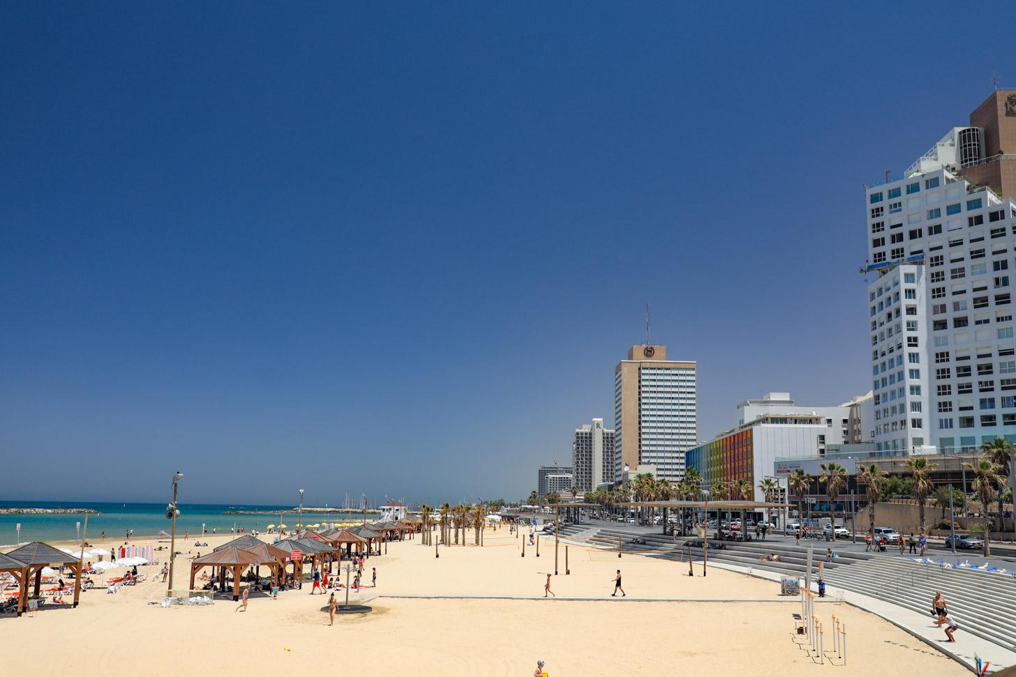 Stranden van Tel Aviv